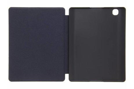 Kobo Aura Edition 2 hoesje - Blauwe geribbelde book case