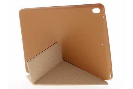 iPad Pro 10.5 hoesje - Bruine Flipstand Cover voor