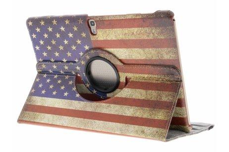 Samsung Galaxy Tab S 10.5 hoesje - 360° draaibare Amerikaanse vlag