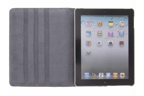 360° draaibare uiltjes op takken design hoes voor de iPad 2 / 3 / 4