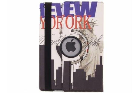 iPad Air hoesje - 360° draaibare New York