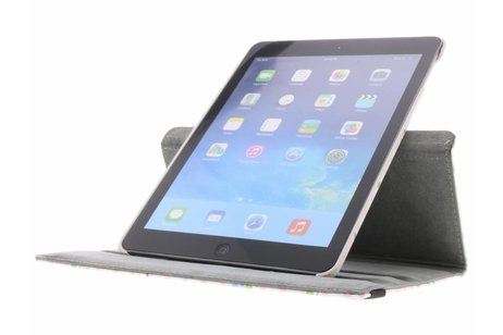 iPad Air hoesje - 360° draaibare uiltjes op