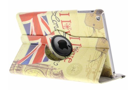 iPad Air hoesje - 360° draaibare love London