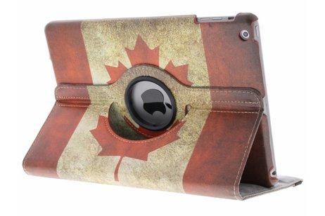 iPad Air hoesje - 360° draaibare Canadese vlag