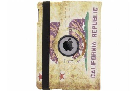 iPad Air hoesje - 360° draaibare California Republic
