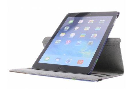 iPad Air hoesje - 360° draaibare drie uilen