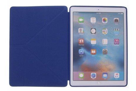 iPad Pro 12.9 (2017) hoesje - Blauwe Flipstand Cover voor
