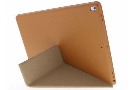 iPad Pro 12.9 (2017) hoesje - Bruine Flipstand Cover voor