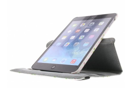 360° draaibare uiltjes op takken design hoes voor de iPad Mini / 2 / 3