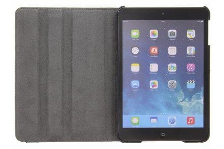 360° draaibare roze vlinders design hoes voor de iPad Mini / 2 / 3