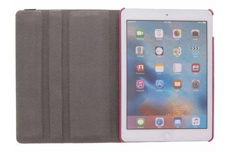 iPad Air 2 hoesje - 360° draaibare roze uil