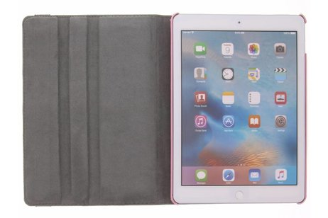iPad Air 2 hoesje - 360° draaibare roze takken