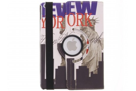 iPad Air 2 hoesje - 360° draaibare New York