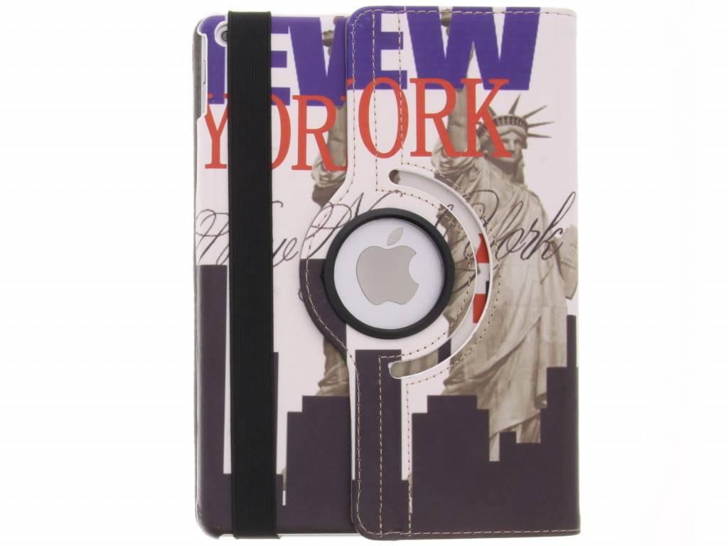 360 ° Rotatif Nouvelle Couverture De Conception D'image De Liberté York Pour Le Cas De L'air EfPio