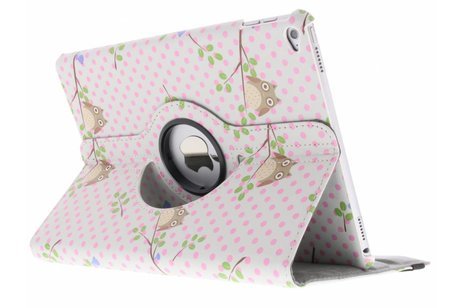 iPad Air 2 hoesje - 360° draaibare uiltjes op