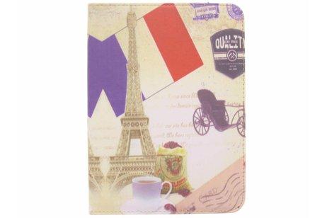 Samsung Galaxy Tab 4 10.1 hoesje - 360° draaibare Parijs design