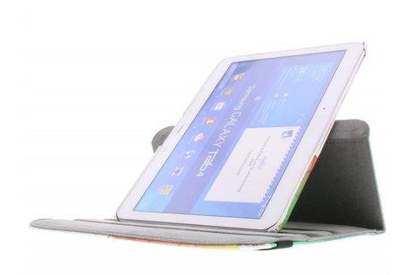 Samsung Galaxy Tab 4 10.1 hoesje - 360° draaibare tuin design
