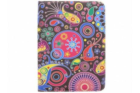 Samsung Galaxy Tab 4 10.1 hoesje - 360° draaibare multicolor pattern