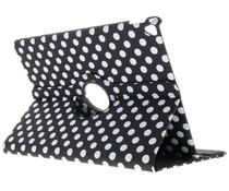 360° draaibare polka dot tablethoes iPad Pro 12.9 (2017)