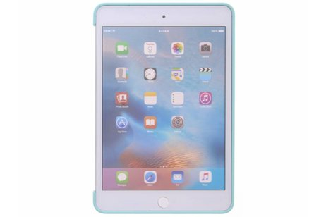 iPad Mini 4 hoesje - Apple Mintgroene Silicone Case