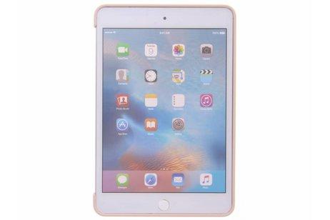 iPad Mini 4 hoesje - Apple Roze Silicone Case