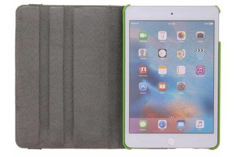 iPad Mini 4 hoesje - 360° draaibare groene plant