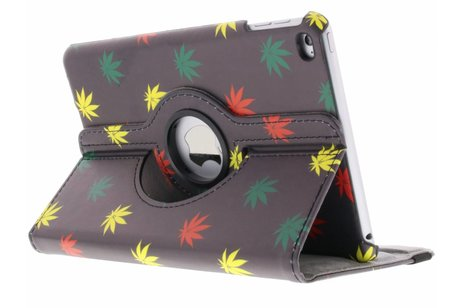 iPad Mini 4 hoesje - 360° draaibare meerkleurig plant