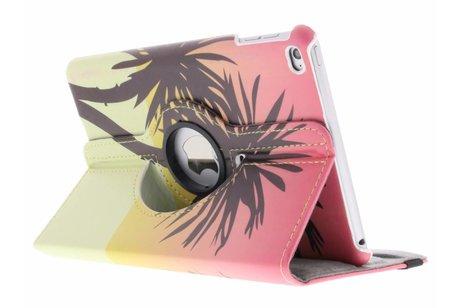 iPad Mini 4 hoesje - 360° draaibare palmboom design