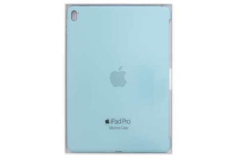 iPad Pro 9.7 hoesje - Apple Turquoise Silicone Case