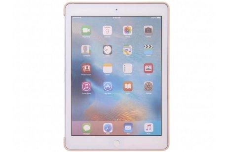 iPad Pro 9.7 hoesje - Apple Rosé Gouden Silicone