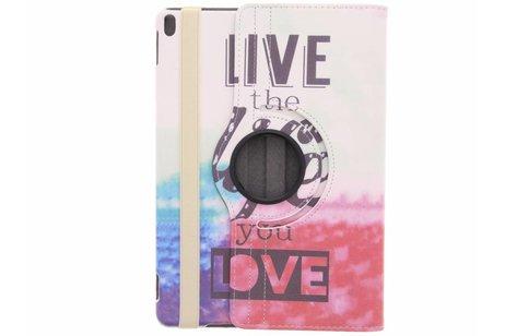iPad Pro 10.5 hoesje - 360° draaibare live the