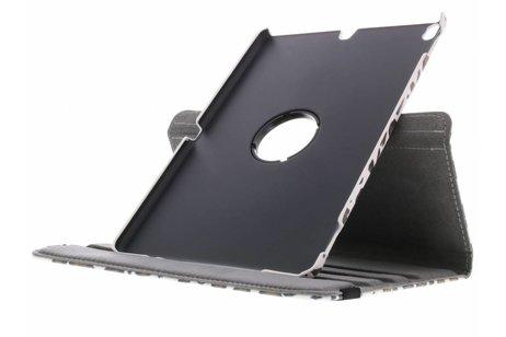iPad Pro 10.5 hoesje - 360° draaibare luipaard design