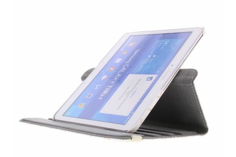 Samsung Galaxy Tab 4 10.1 hoesje - 360° draaibare cubes design