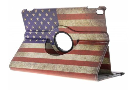 iPad Pro 10.5 hoesje - 360° draaibare Amerikaanse vlag