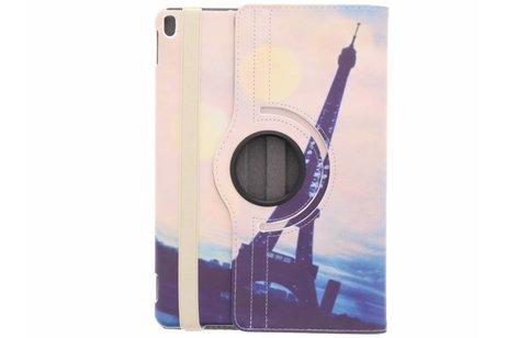 iPad Pro 10.5 hoesje - 360° draaibare paris design