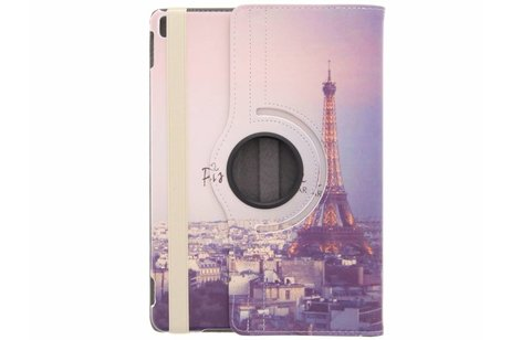 iPad Pro 10.5 hoesje - 360° draaibare eiffeltoren design