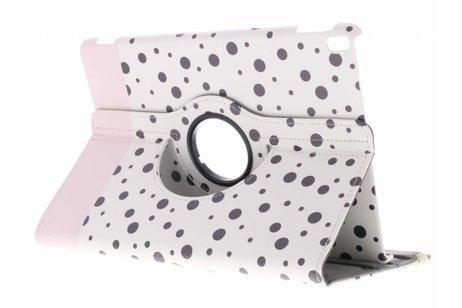 iPad Pro 10.5 hoesje - 360° draaibare spikkel design