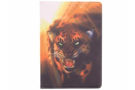 iPad Pro 10.5 hoesje - 360° draaibare tijger design