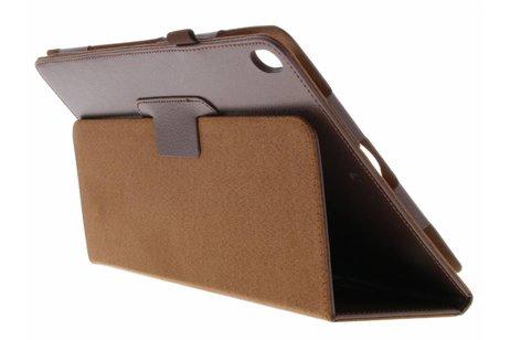 iPad Pro 10.5 hoesje - Bruine effen tablethoes voor