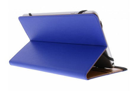 Blauwe Universele Wallet Stand Case 7-8 inch