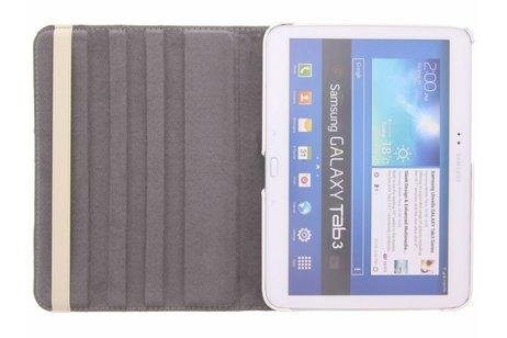 Samsung Galaxy Tab 3 10.1 hoesje - 360° draaibare spikkel design