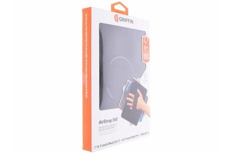 Griffin Zwarte AirStrap 360 Protective Case voor de iPad (2018) / (2017) / Pro 9.7 / Air 2