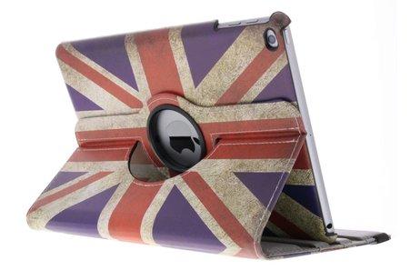 360° draaibare Britse vlag design hoes voor de iPad (2018) / (2017)