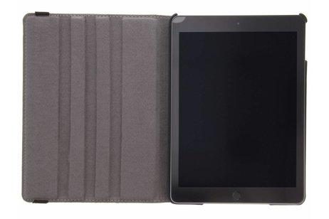 iPad (2017) hoesje - 360° draaibare warning design