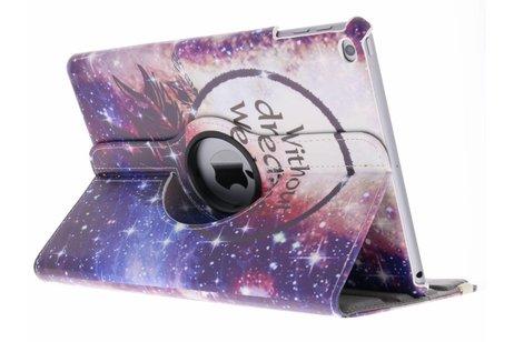 360° draaibare dromenvanger design hoes voor de iPad (2018) / (2017)