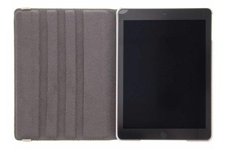 iPad (2017) hoesje - 360° draaibare flamingo design
