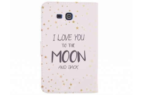 Samsung Galaxy Tab 3 Lite 7.0 hoesje - Quote design TPU tablethoes