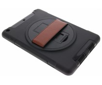 Zwart defender tablethoes met strap iPad (2017)