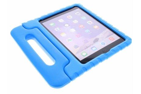 iPad Air 2 hoesje - Blauwe tablethoes met handvat