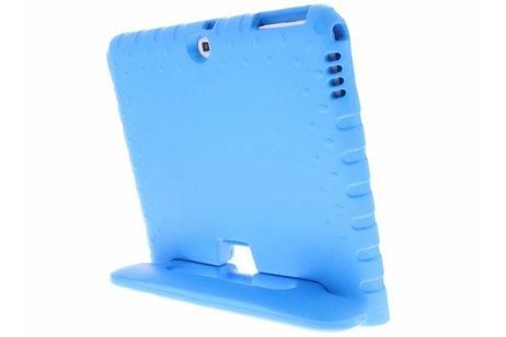 Samsung Galaxy Tab 4 10.1 hoesje - Blauwe tablethoes met handvat